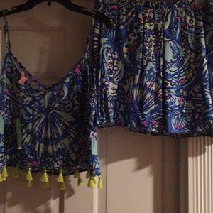 Lilly Pulitzer Ramona 2 piece dress NWT
